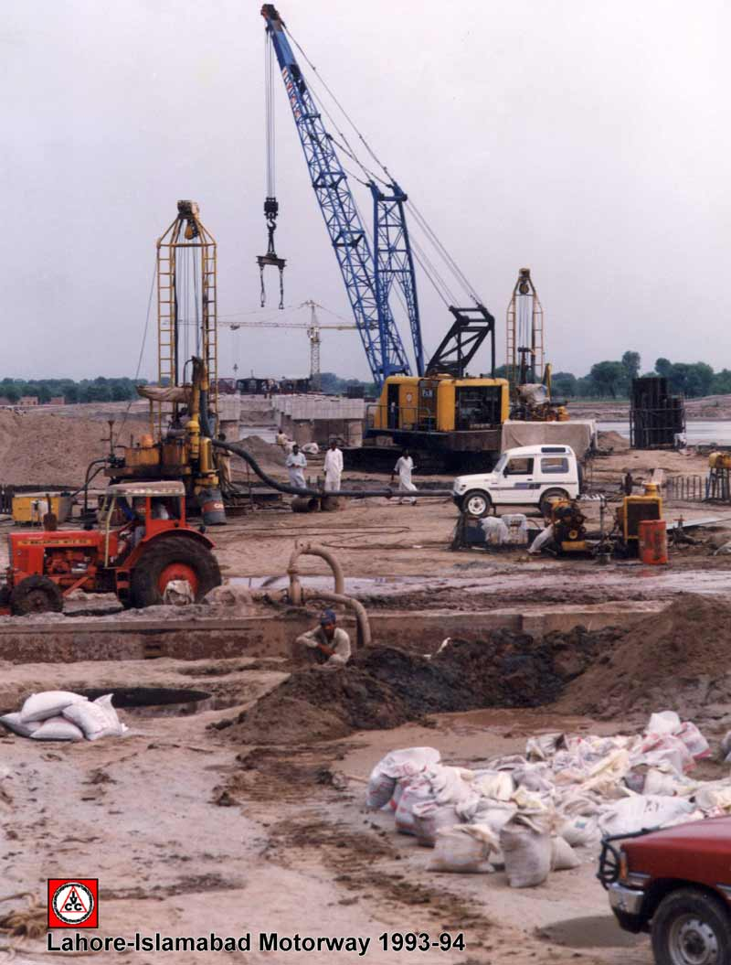 Lahore Islamabad Motorway Construction Project 3