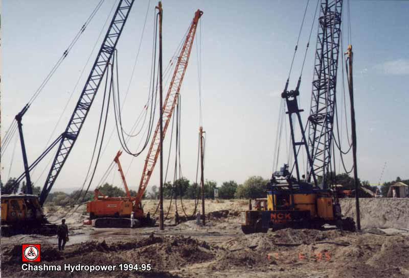 Chashma Hydro Power Construction Project