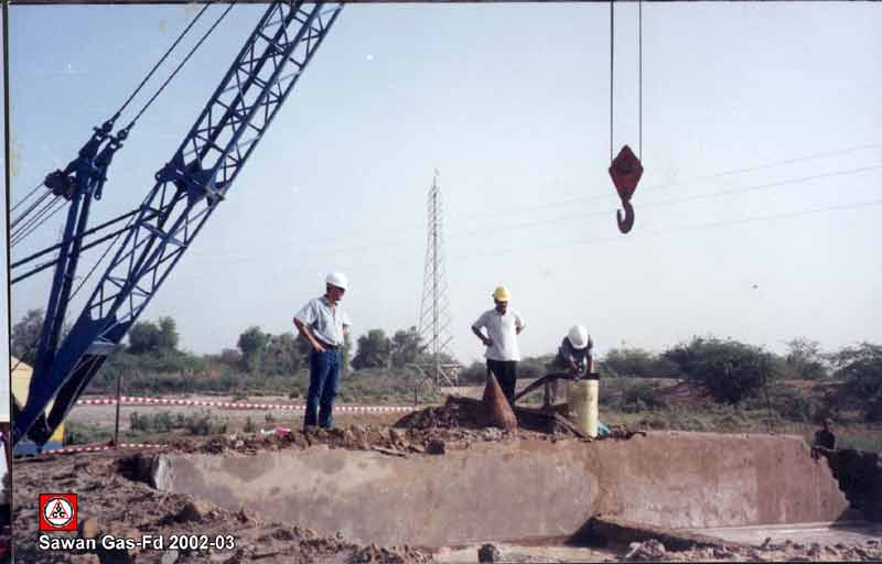 Sawan Gas Construction Project