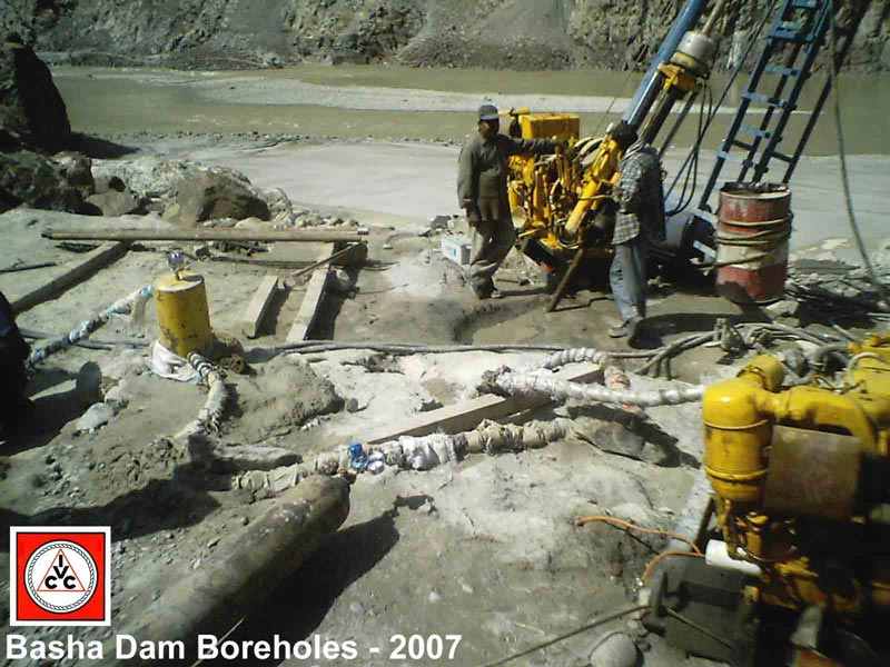 Basha Dam Boreholes Construction Project