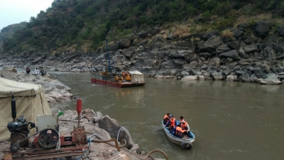 Core Drilling for Investigation on River Jehlum at Azad Pattan Hydro Power Project 1